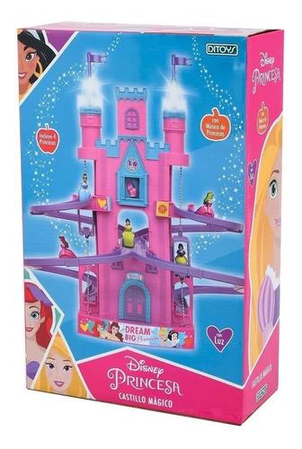 Castillo Magico Disney Princesas Luz Sonido Ascensor Ditoys
