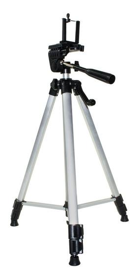 Tripé Universal Profissional Telescópico Câmera Celular 1,3m