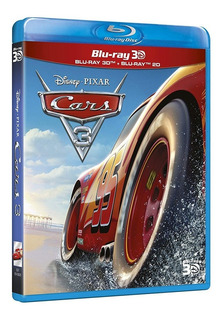 Pelicula Blu-ray Cars 3 De Dsney Pixar