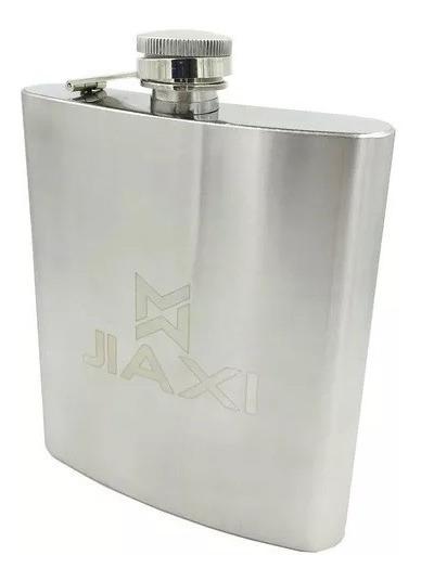 Cantil Porta Bebida De Bolso 500 Ml Inox - Whisky Vodka Rum