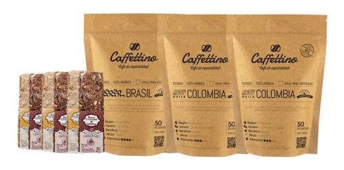 Imagen 1 de 1 de Kit Recarga - 150 Usos Para Nespresso + Barras Crocantes