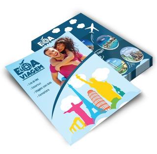 5000 Panfletos 10x14 Com +1000 Cartões De Visita Arte Inclusa Frete Grátis Promoção