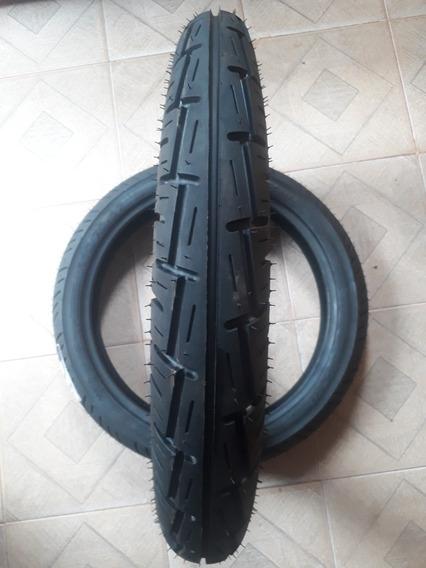 Pneu Traseiro Fan/titan/ybr 100/90/18 Technic