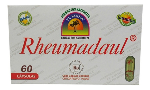 Rheumadaul Capsulas Caja X 60 - Unidad a $10
