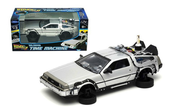 Welly - Delorean - Time Machine Ii (fly Mode) - Escala 1:24