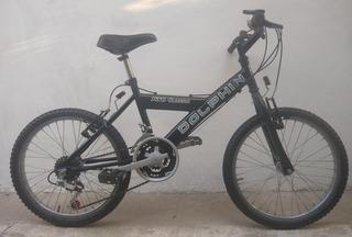 Bicicleta Dolphin Mountainbike Rodado 20