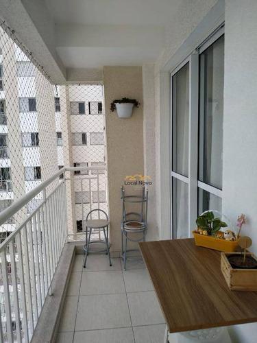 Imagem 1 de 11 de Apartamento Com 2 Dormitórios À Venda, 52 M² Por R$ 311.000,00 - Jardim Flor Da Montanha - Guarulhos/sp - Ap0862