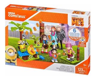 Megaconstrux Minions Flia Completa - 6 Personajes - No Lego