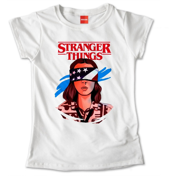 Blusa Dama Niña Stranger Things Once Eleven Playera #696