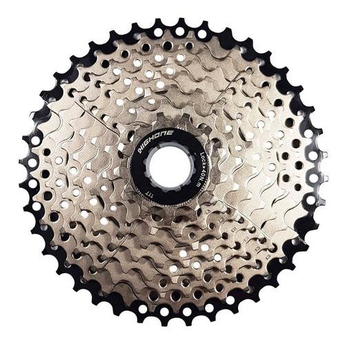 Roda Livre K7 9v High One 11-40d Aço Cromado Bike Mtb