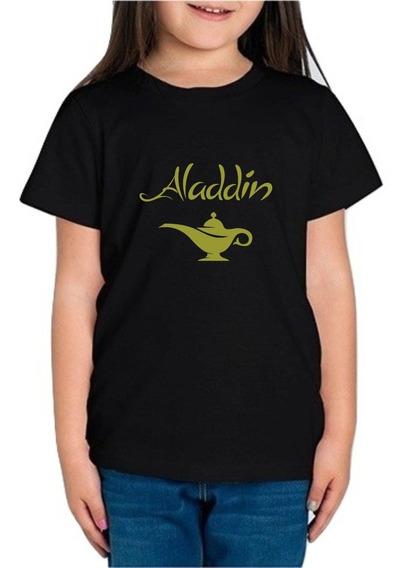 Playera Aladdin Disney Genio Lampara Magica Niña 1 Pza