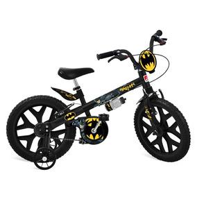 Bicicleta Infantil Bandeirante Batman Aro 16