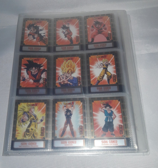 Dragon Ball Z Fusion Coleccion Completa 180 Tarjetas Panini
