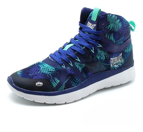 Zapatillas Everlast Haze Mujer Box Fitness Azul/floral
