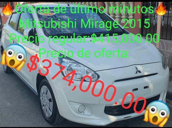Mitsubishi Mirage 2015 Full Llevatelo Con 40,000.00