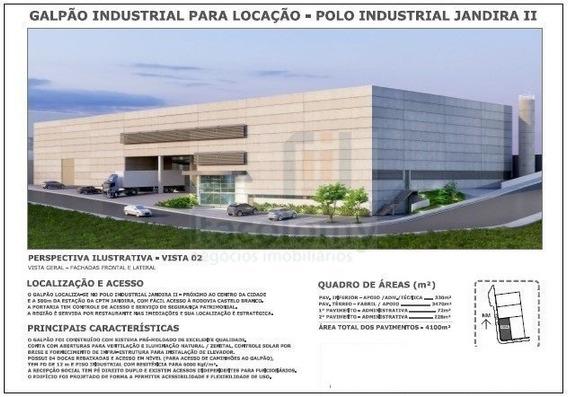 Ref: 3688 Galpão No Polo Industrial De Jandira Ii - A 500 Mt - 3688