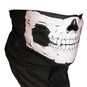 Bandana Caveira Touca Balaclava Mascara Paintball Airsoft