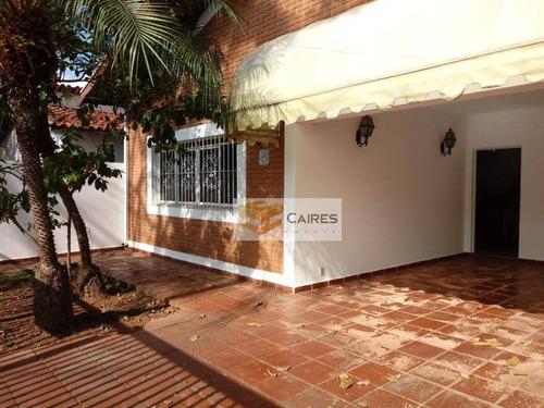 Imagem 1 de 20 de Casa Com 4 Dormitórios À Venda, 268 M² Por R$ 690.000,00 - Jardim Chapadão - Campinas/sp - Ca2629