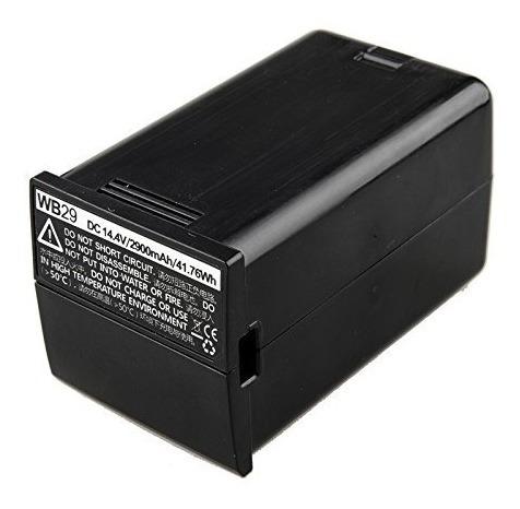Bateria Litio Ion Godox Wb29 Wb 29 Para Flash Ad200
