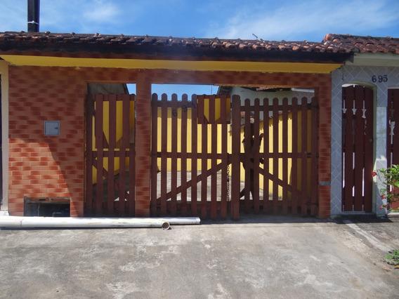 Casa Na Praia 120 Mil Mongaguá Plataforma C6823