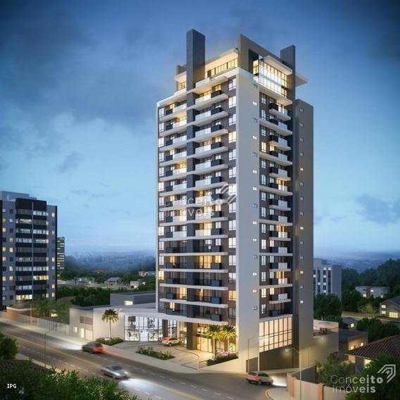 Apartamento Para Venda Em Ponta Grossa, Centro, 2 Dormitórios, 1 Banheiro, 1 Vaga - Ecbleessec