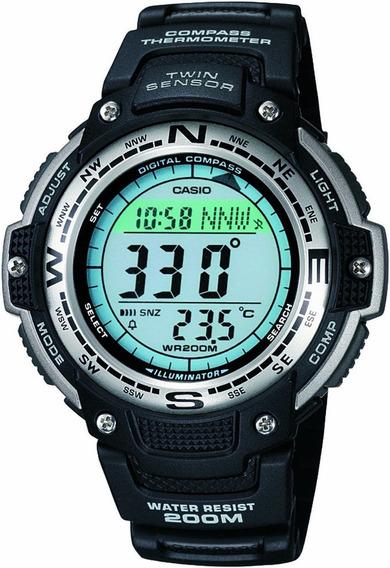 Relógio Casio Sgw100-1vcf C/ Termometro E Bussola Original