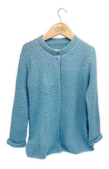 Witty Girls Saco Mila Celeste Abrigo Sweater Lana Nena Ropa