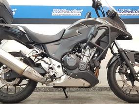 Honda Cb 500 X Cinza 2015