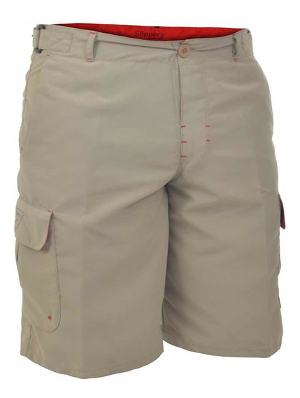 Bermuda Cargo Hombre Uv Pesca Waterproof Slippery®