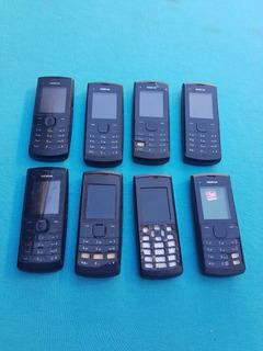 Lote Com 8 Celulares Nokia X1-01 E X1-00 (leia A Descrição)
