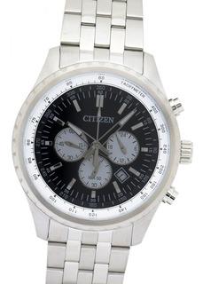Reloj Citizen An806057e Cronografo 100% Acero 100m Cristal