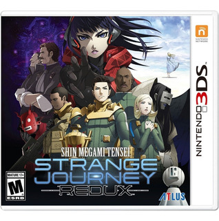 Shin Megami Tensei Strange Journey Redux Nintendo 3ds Nuevo