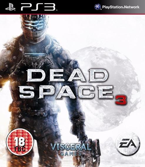 Dead Space 3 Ps3 (novo, Original, Lacrado, Mídia Física)