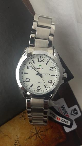 Promoção Relógio Analógio Masculino Prata