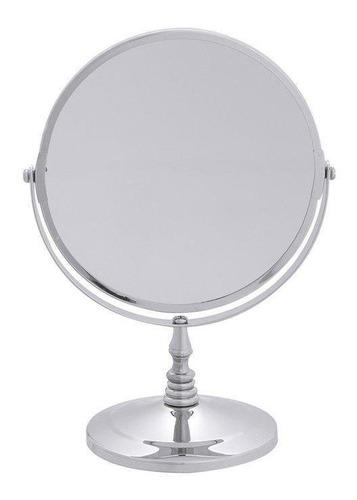 Espelho De Aumento Dupla Face Double