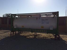 Cisterna Tanque De Acero Y Aluminio De 20 Pies