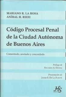 Codigo Procesal Penal De La Ciudad Autonoma De Buenos Aires