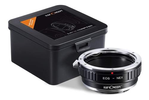 Adaptador De Lentes Canon Eos Ef A Sony Montura E Nex