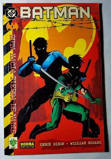 Comic Batman Ruta Hacia Tierra De Nadie