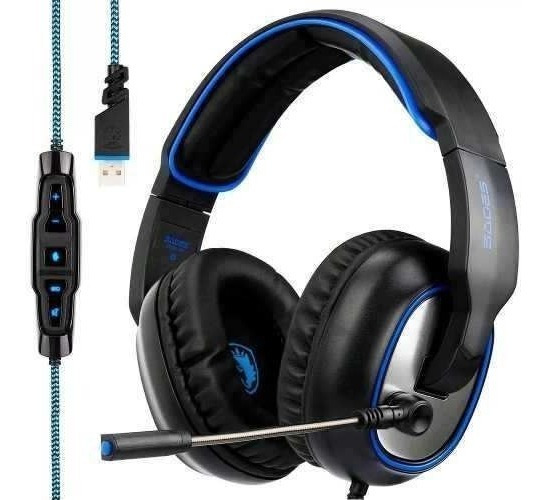 Headset Gamer 7.1 Usb Profissional Jogos Pronta Entrega F17