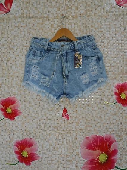 Bermuda Jeans Feminina Vários Tamanhos.