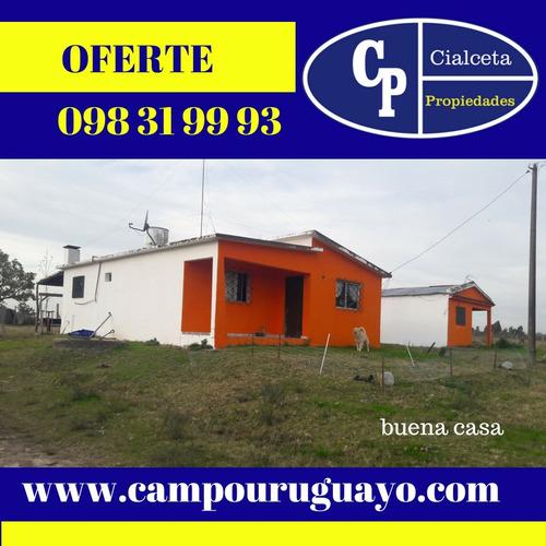 5 Hectáreas Con Dos Casas, Chacra En Venta En Canelones