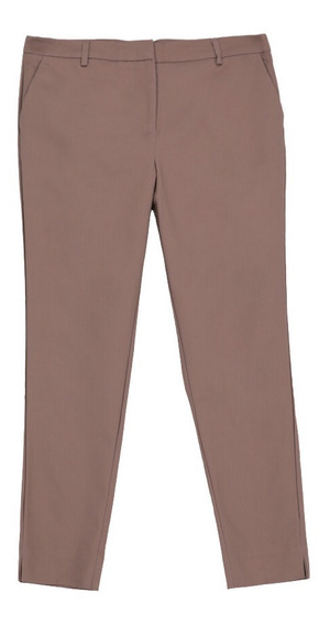Pantalón De Mujer C&a Básico Slim Straight