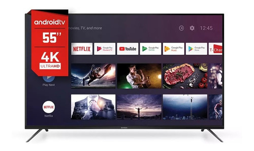 Smart Tv Hitachi 55 4k Uhd Cdh-le554ksmart10 Netflix Hdmi