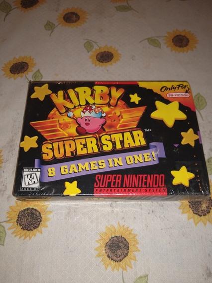 Kirby Super Star Snes Lacrado