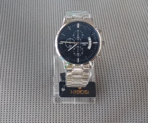2 Relógios Nibosi Funcional Modelos E Cores Nas Fotos
