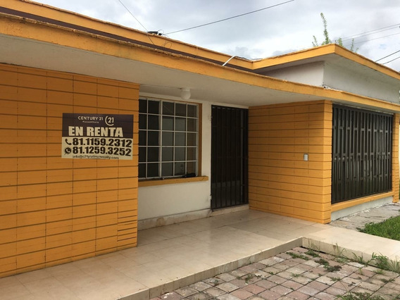 Casa En Renta En Mitras Centro