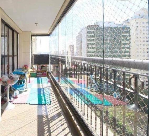 96492* Apartamento 4 Suítes 180m² Campo Belo - Ap3454