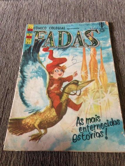 Hq Cômico Colegial Fadas .ano 1966.