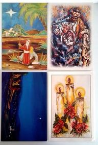 Cartão Pintores Com A Boca E Os Pés - Kit C/ 4 Artistas